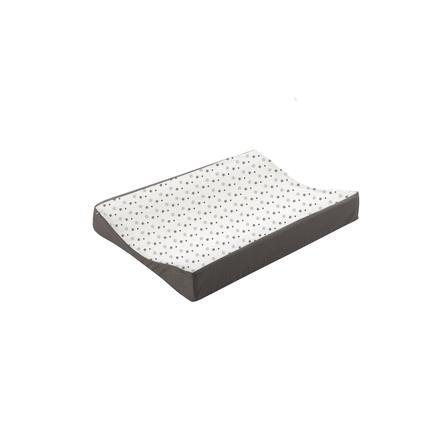 Träumeland stellebord hvitt med grå stjerner 50 x 70 cm