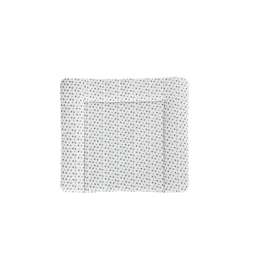 Träumeland Fasciatoio bianco con stelle grigie 75 x 85 cm