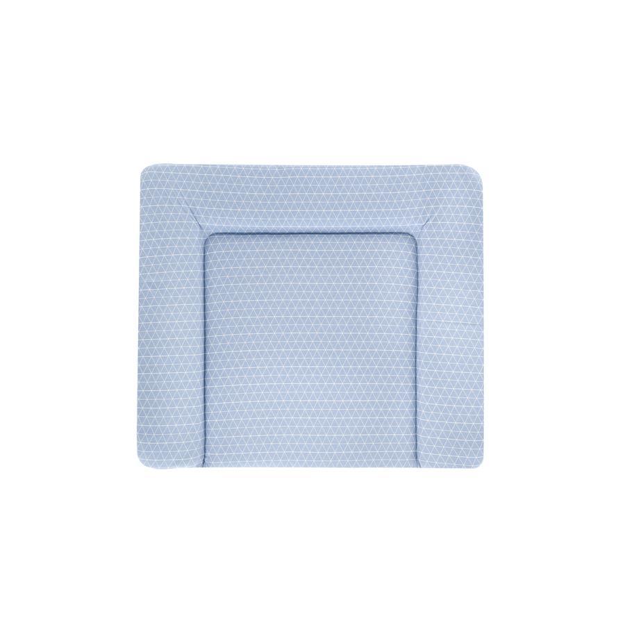 Träumeland Wickelauflage PVC-frei 75 x 85 cm Tropfen ozeanblau  TOP