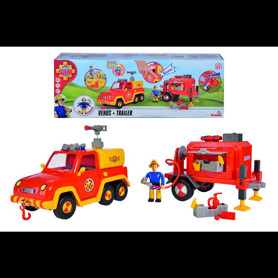Simba Feuerwehrmann Sam - Venus mit Anhänger und Figur