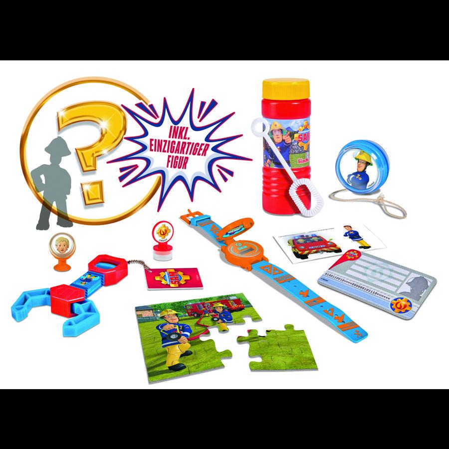 Simba Coffret de jeu figurine Sam le pompier 10 pièces