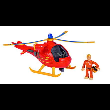 Simba Brannmann Sam - Helikopter Wallaby med figur