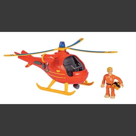 Simba Feuerwehrmann Sam - Hubschrauber Wallaby mit Figur