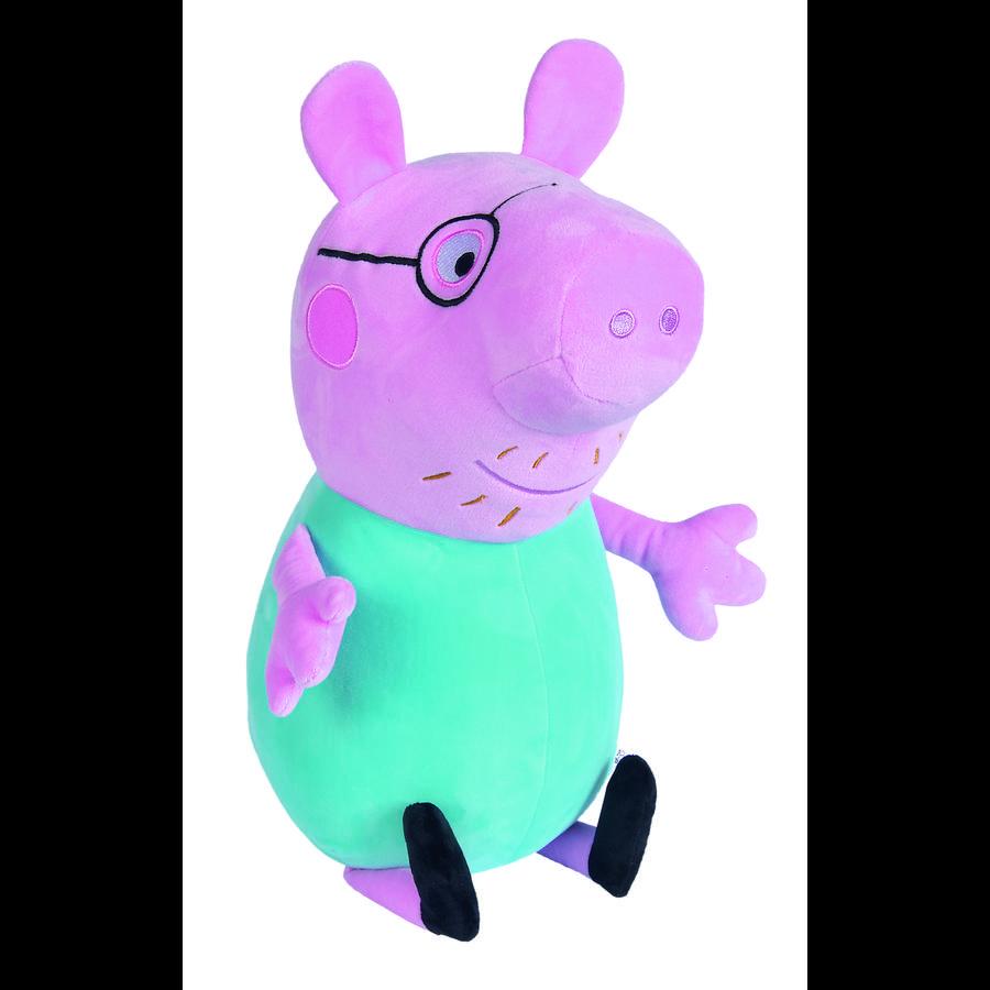 Simba Peppa Pig ™ plys farfar Wutz, 37 cm