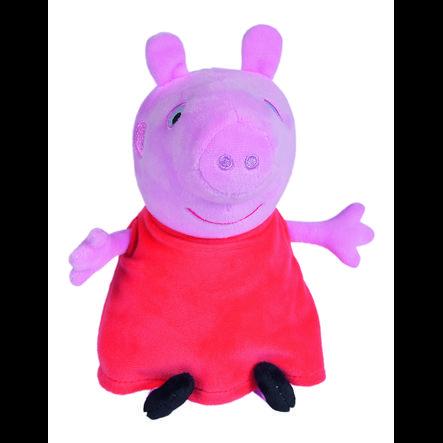 Simba Peluche famille Peppa Pig™ en voiture