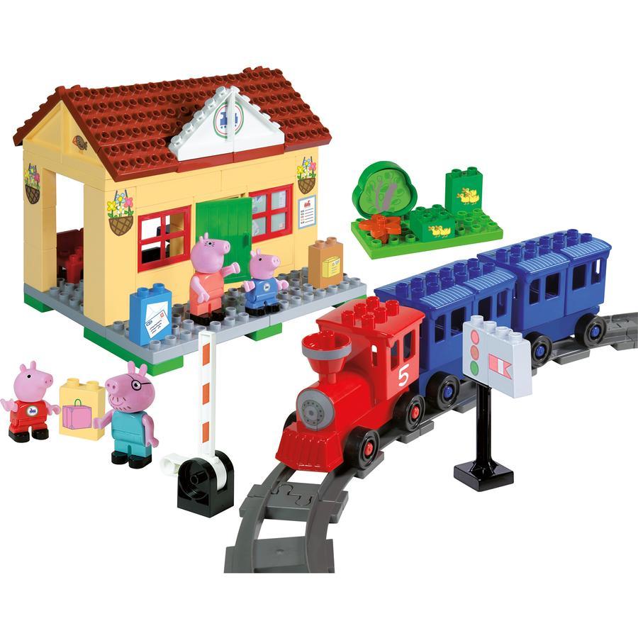 BIG PlayBIG Stavebnice Peppa Pig - nádraží