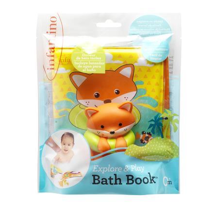 Infantino Bath-bok med vän Fuchs