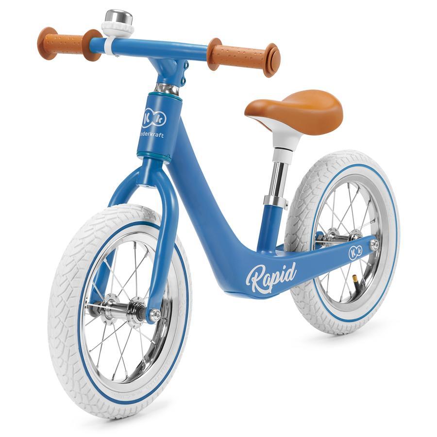 Kinderkraft - Balance Lauffahrrad Rapid Blue Sapphire