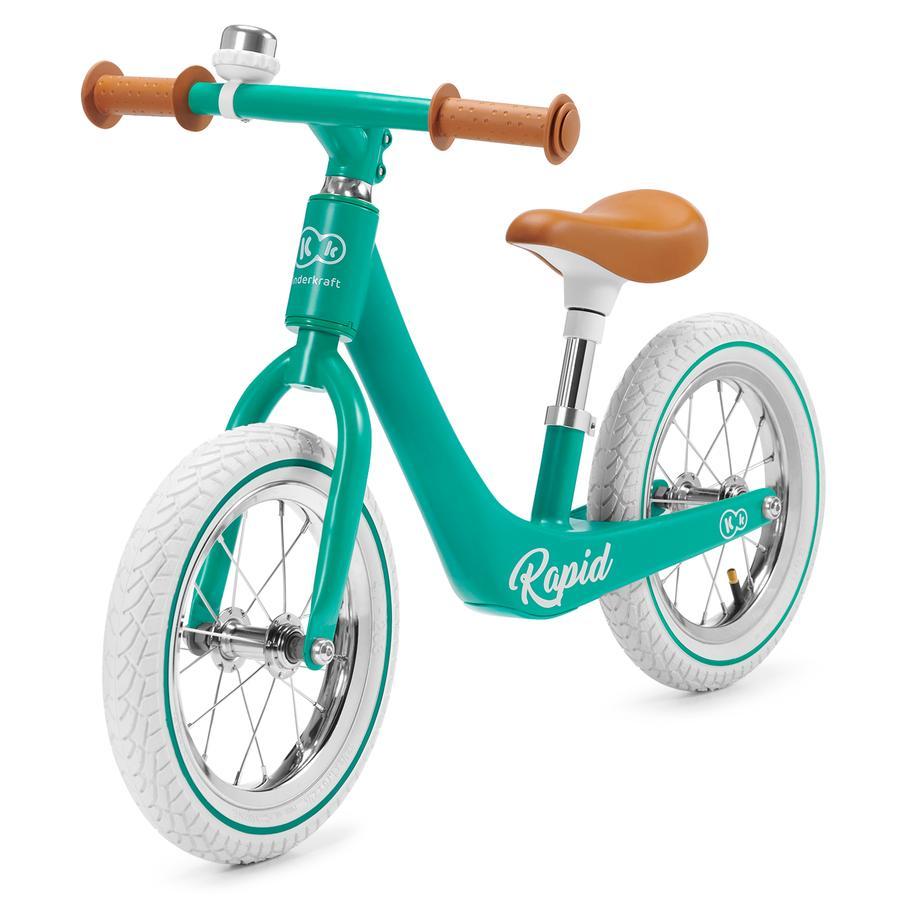 Kinderkraft - Running Balance Bicycle Rapid Mid night Green