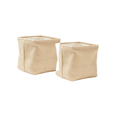 Kids Concept Papierboxen 30 x 30 cm 2er-Set