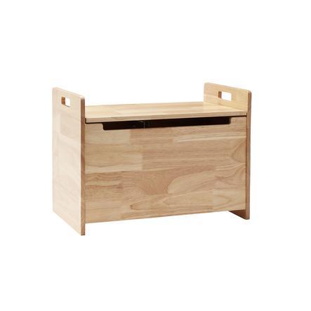 Kids Concept® Coffre banc enfant Saga bois naturel 50x30 cm
