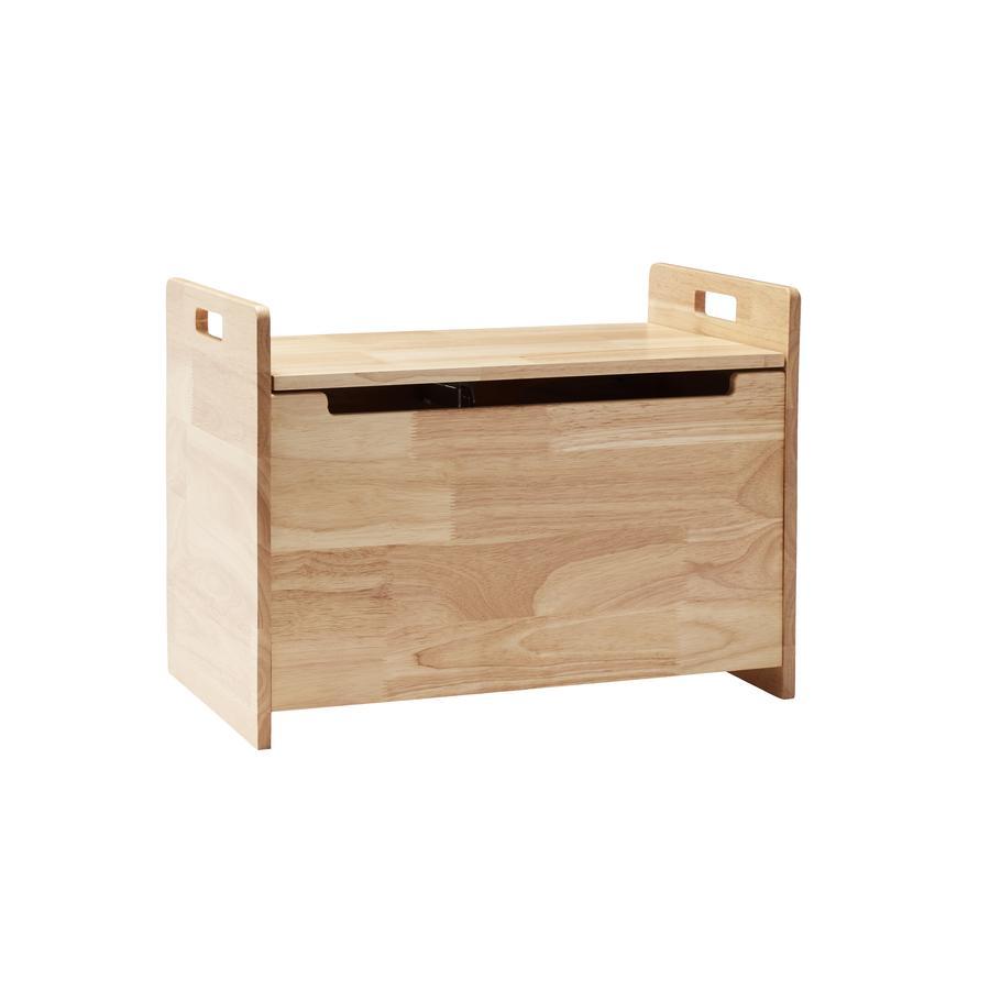 Kids Concept ® Přírodní sedací komoda Saga - dřevo kaučukovníku