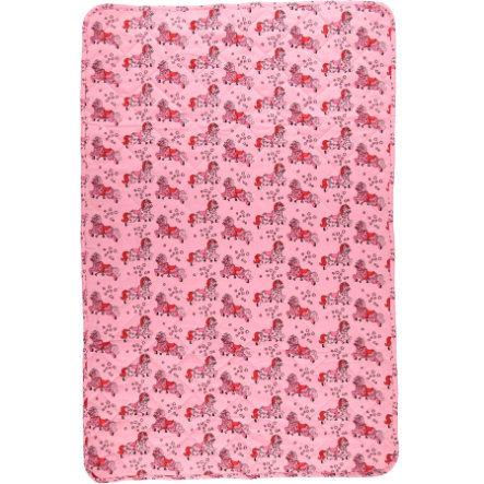 Smafolk Kocyk 100x150 cm Sea pink