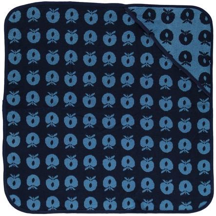 Småfolk hættehåndklæde æble Blue Grotto 70x70