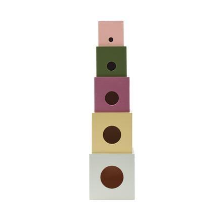 Kids Concept® Stapelwürfel Holz Edvin