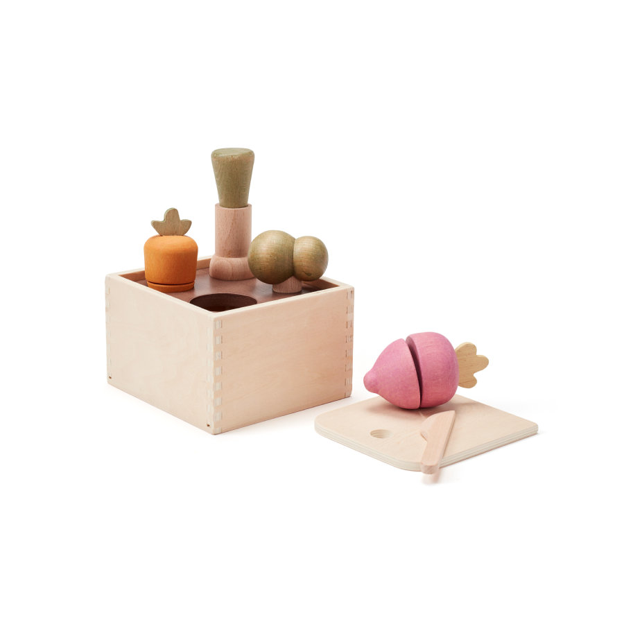 Kids Concept® lajittelupeli puutarhabistro 15x13 cm