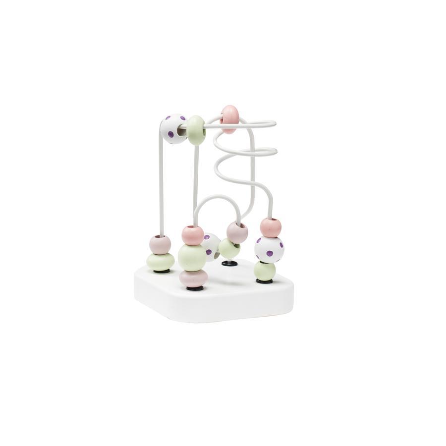 Kids Concept® Labyrinthe enfant mini Edvin, bois blanc