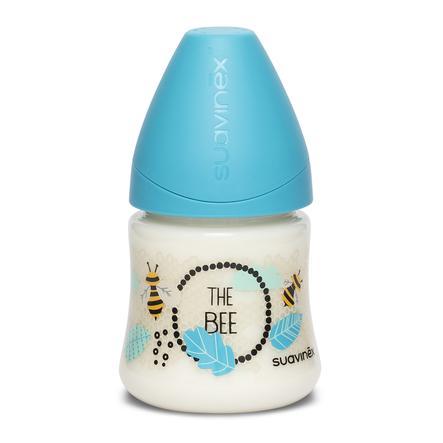 suavinex Weithalsflasche 150 ml langsamer Durchfluss Blaue Biene