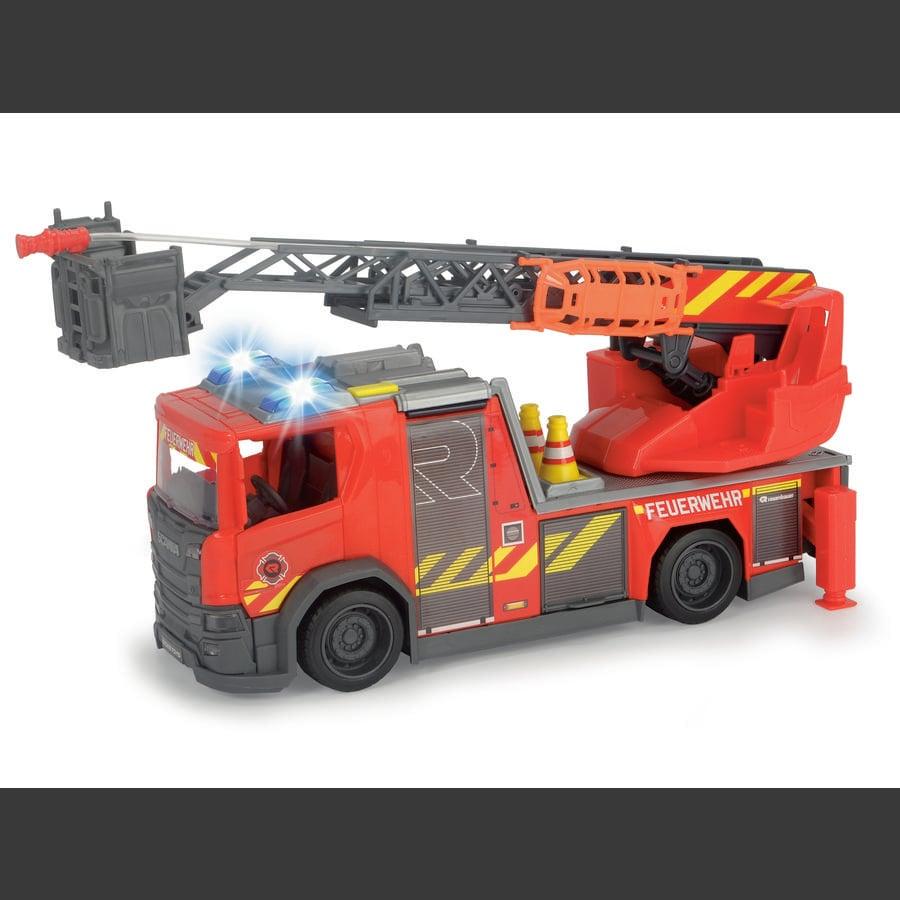 DICKIE Toys Scania skivspelare stege brandkår