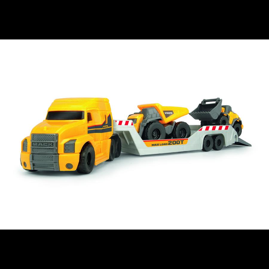 DICKIE Toys Mack/Volvo Micro Builder Truck