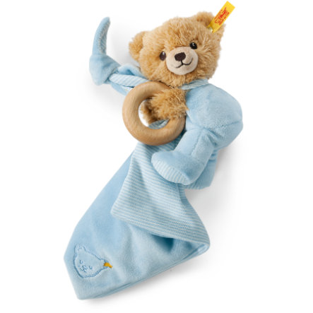 STEIFF Sleep Well Bear, blue 3in1
