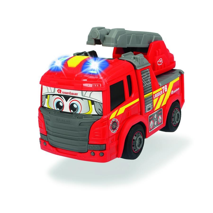 DICKIE Toys Voiture enfant camion pompier Happy Fire Engine