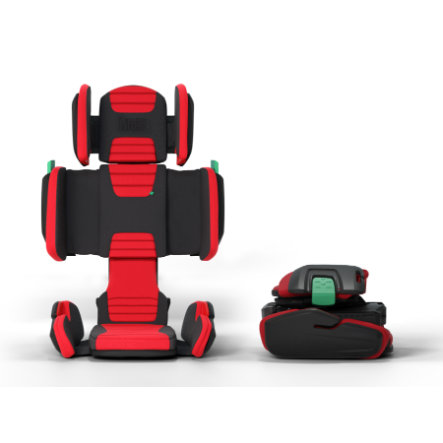 hifold Kindersitz the fit and fold booster Racing Red