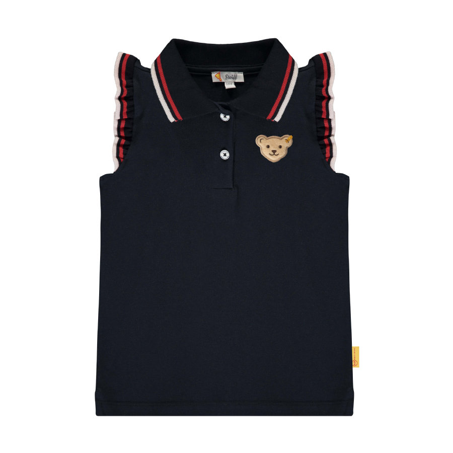 Steiff Girls Polo, black iris