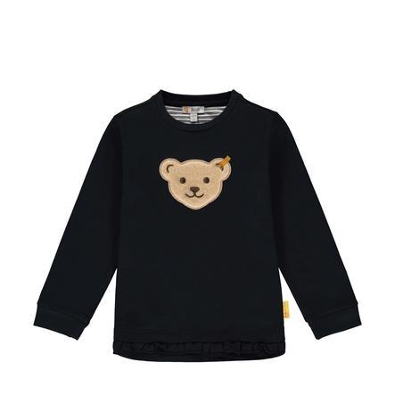Steiff Girls Sweatshirt, black iris