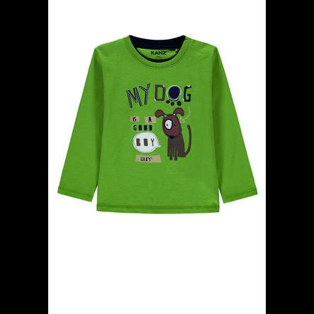 KANZ Chlapecká košile s dlouhým rukávem, zelená