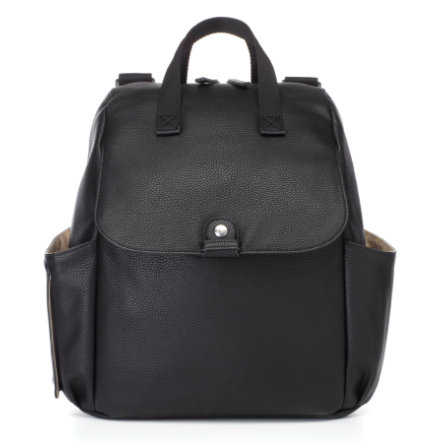 Babymel Wickelrucksack Robyn Convertible Backpack Faux Leather Black