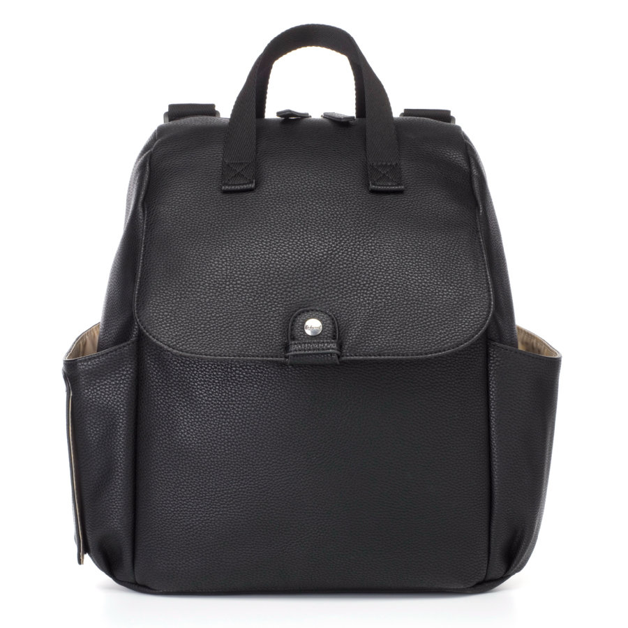 Robyn Convertible Backpack Faux Leather Black