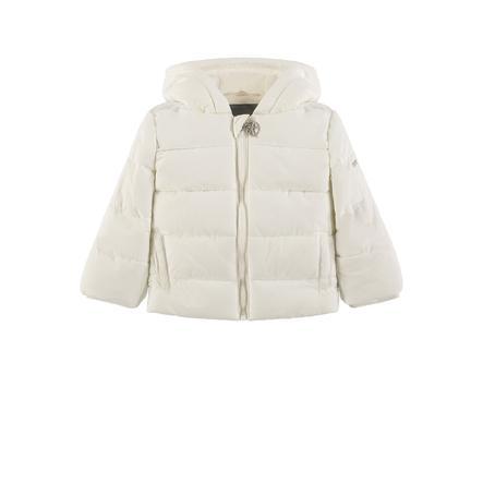 KANZ Dětská bunda s kapucí, bílá