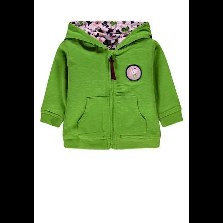 KANZ Jongens Sweatjacket met capuchon, groen