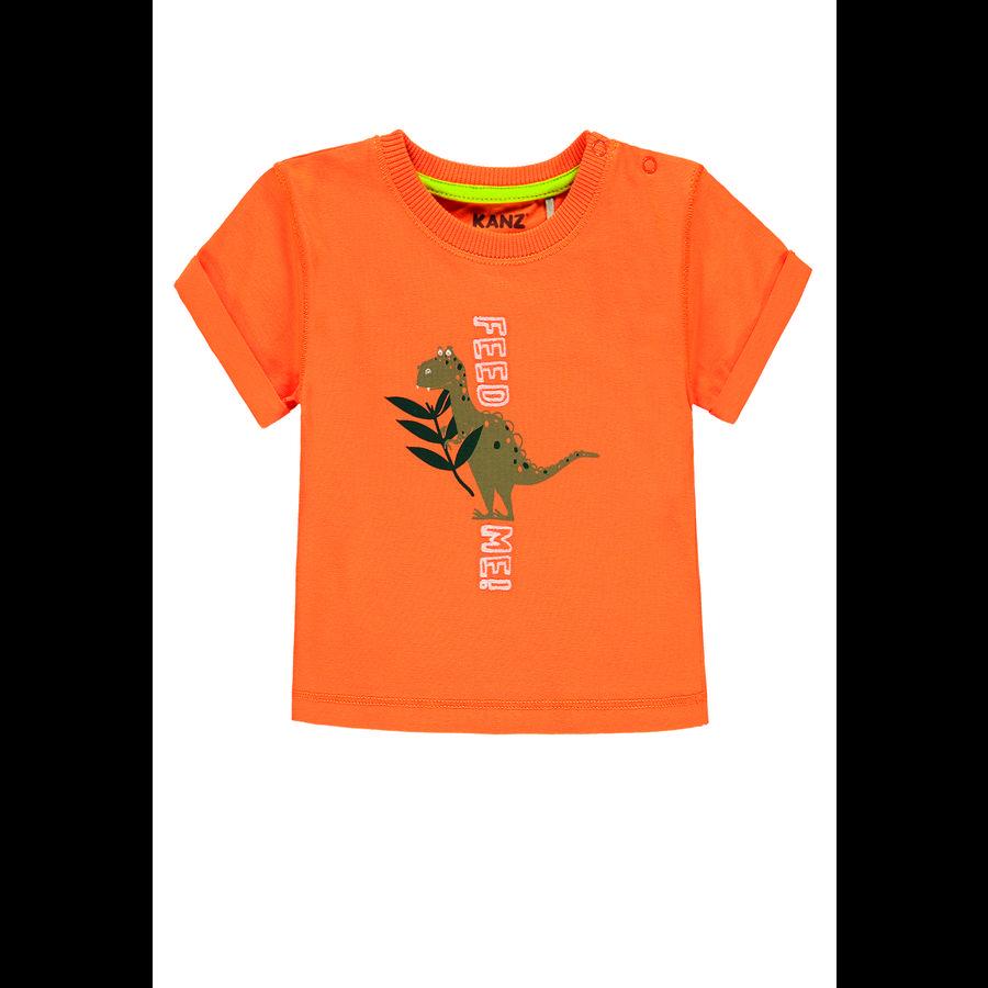 KANZ Boys T-Shirt, sun orange|orange