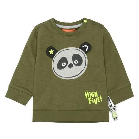 STACCATO Sweatshirt Panda myk oliven