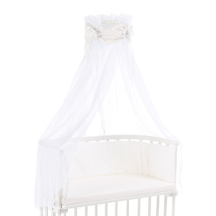 babybay ® hemel organische Cotton sterren glinsteren sterren rosé