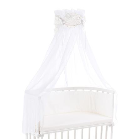 babybay ® sky organiska bomullsstjärnor glitter stjärnor rosé