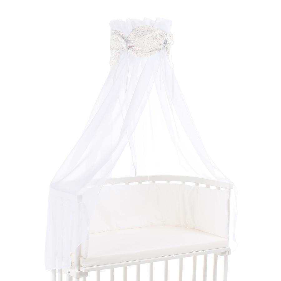 babybay® Ciel de lit cododo Organic Cotton étoiles paillettes rosé