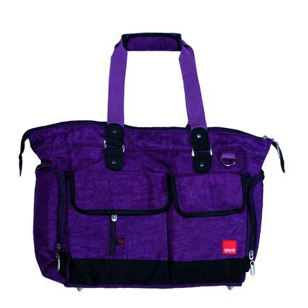 Schardt přebalovací taška Baggy fialová