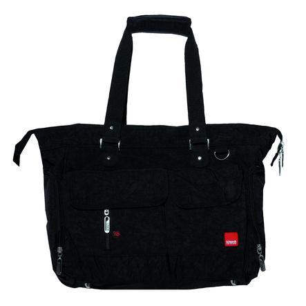 Schardt Diaper väska Baggy svart
