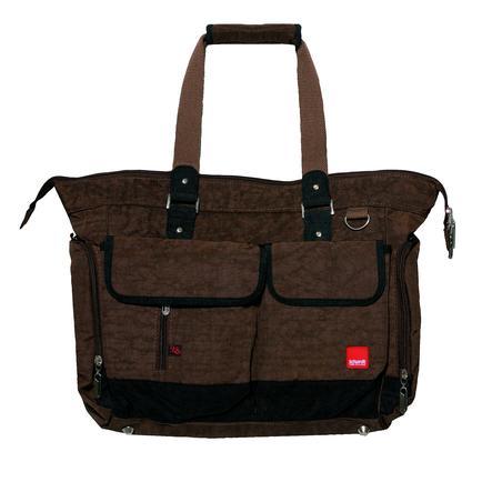Schardt pusletaske baggy brown