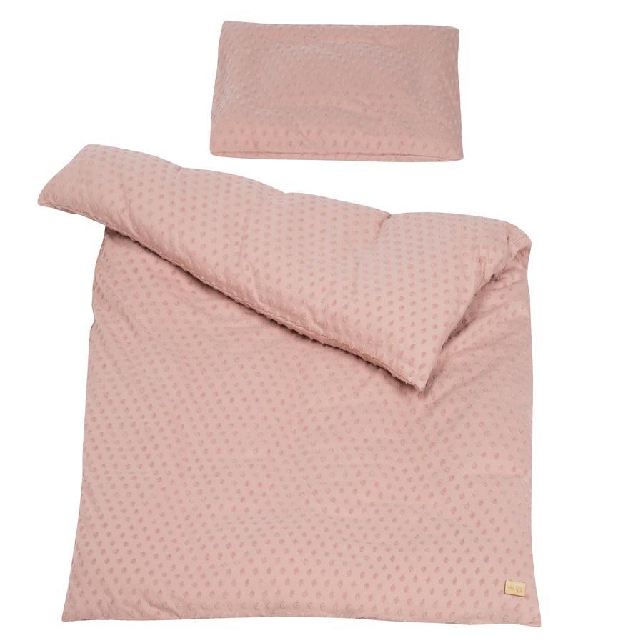 roba bedlinnen paars Planet roze 100 x 135 cm