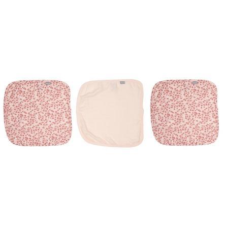 bébé jou® Pieluszki 3 szt. Leopard Pink