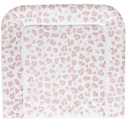 bébé jou® Pokrowiec na przewijak Leopard Pink 72x77 cm