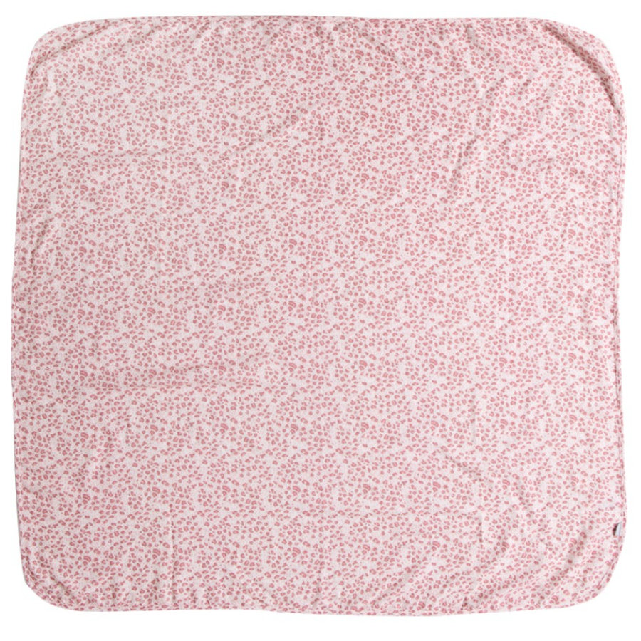 bébé jou® multi-klud Leopard Pink 110 x 110 cm