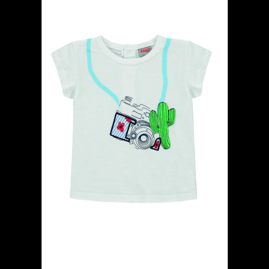 KANZ Girls Camiseta b right  white | white
