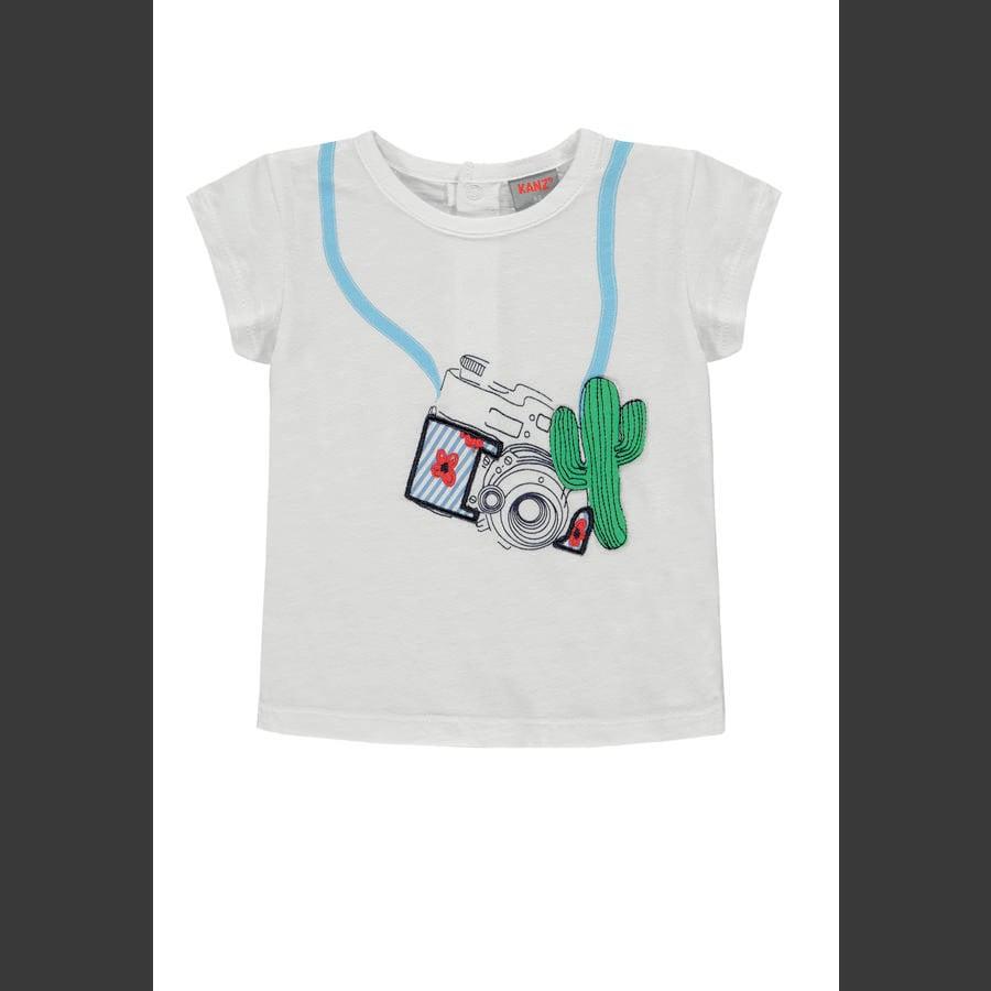 KANZ T-skjorte for jenter b høyre hvit | hvit