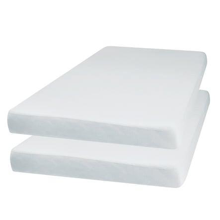 Playshoes Jersey vybavený arch 2-pack bílý