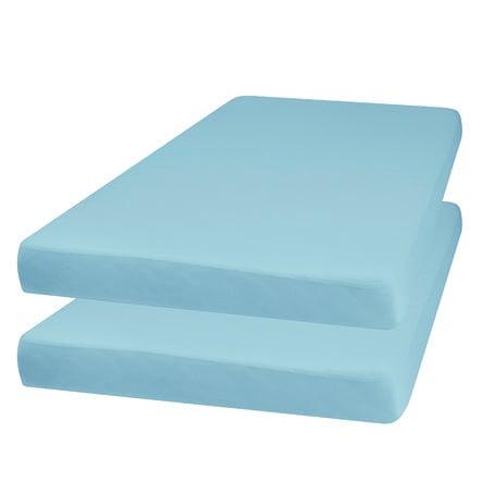 Playshoes  Sábana bajera 2-pack azul claro